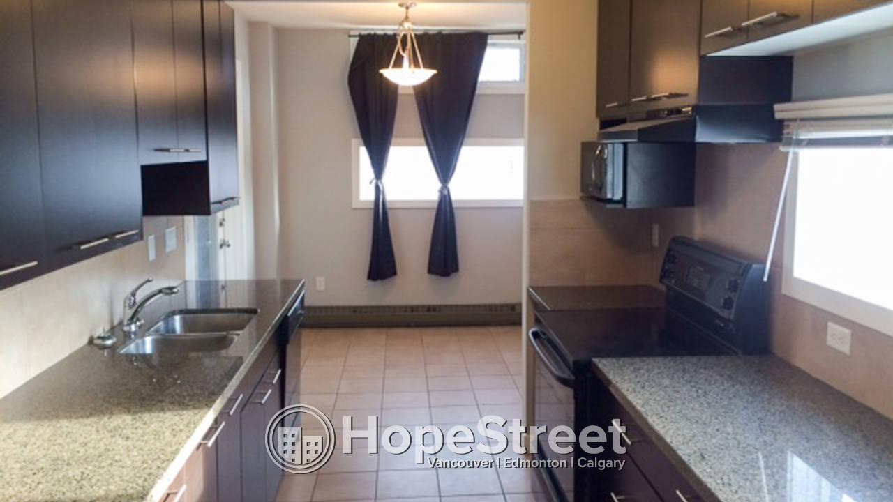 2 Bedroom Condo for Rent in Bankview.