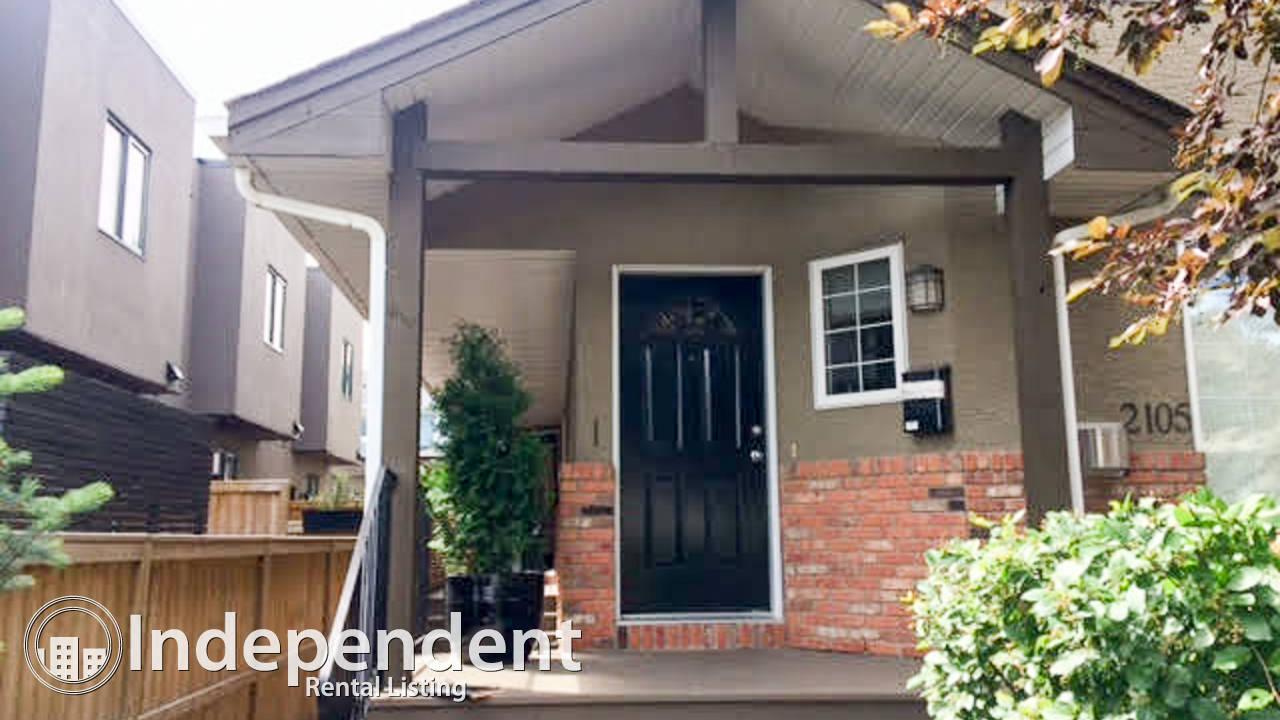 *Special Offer* 2 Bedroom + Den Townhouse for Rent in Marda Loop