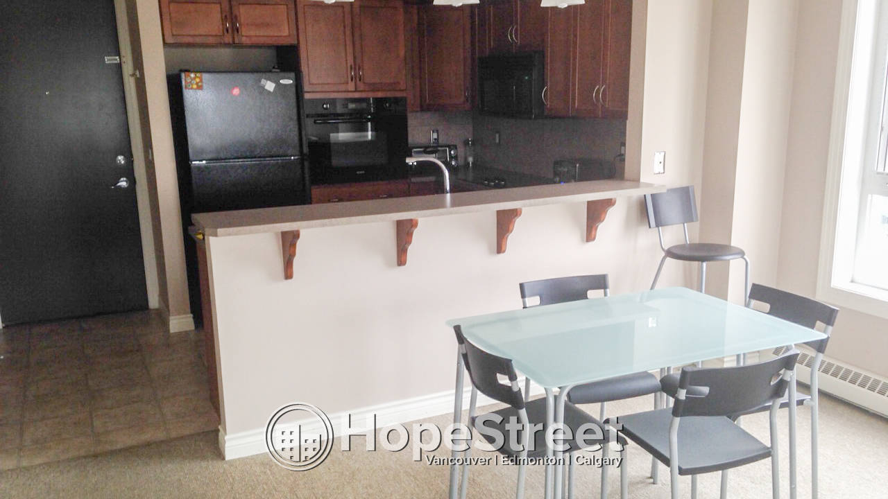 Furnished 1 Bedroom Condo by University of Calgary