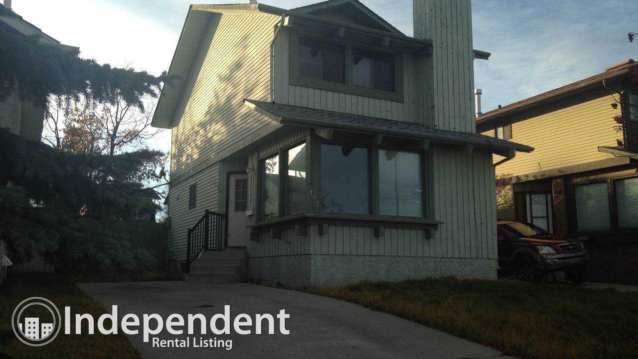 2 Bedroom, 2 Story house for Rent in MacEwan Glen: Pet Negotiable