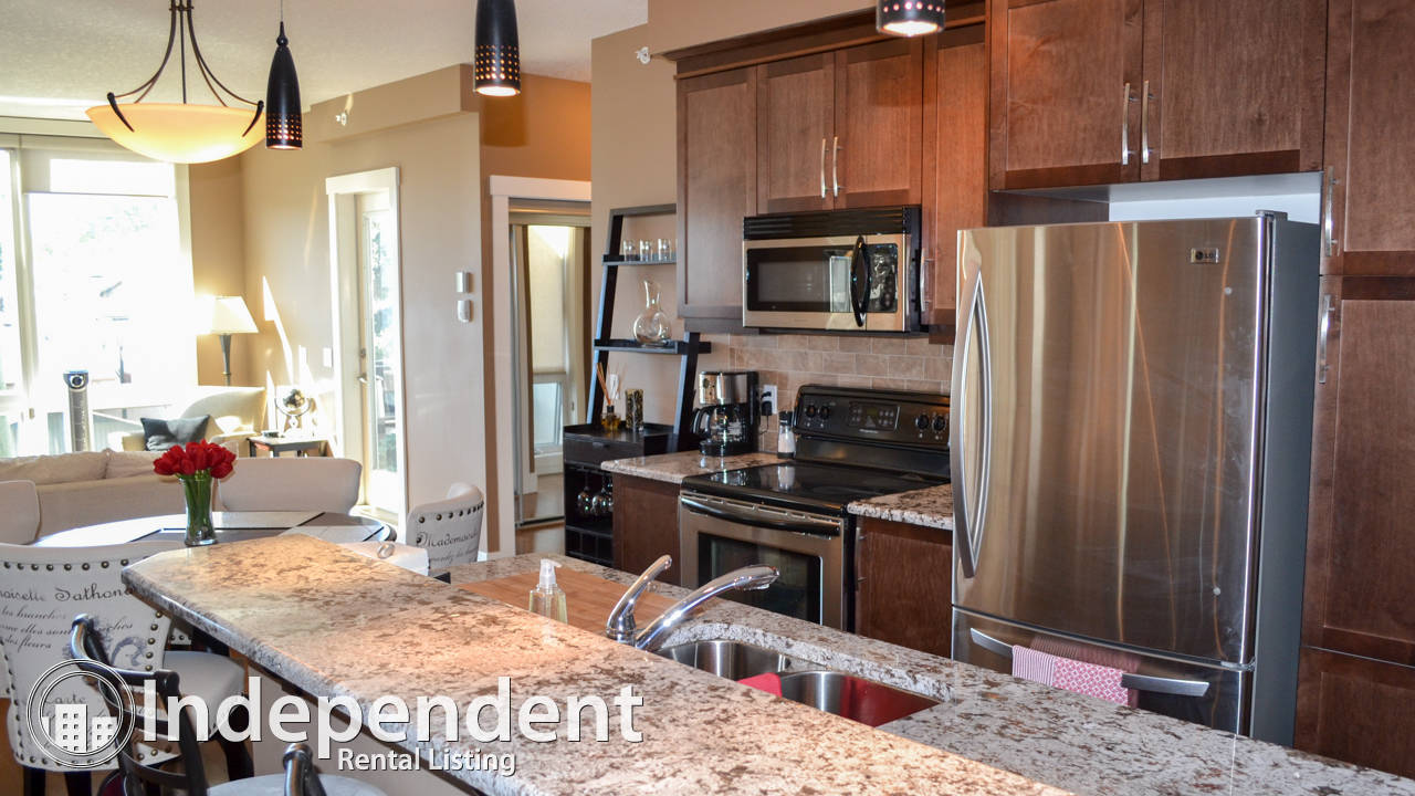 Fully Furnished 2 Bedroom Condo in Bridgeland: Gas BBQ Included
