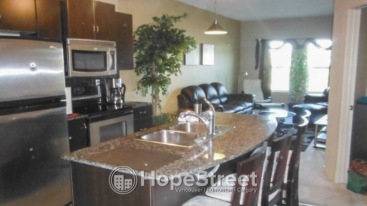 Furnished 1 Br Condo in Lake Bonavista: Utilities Included