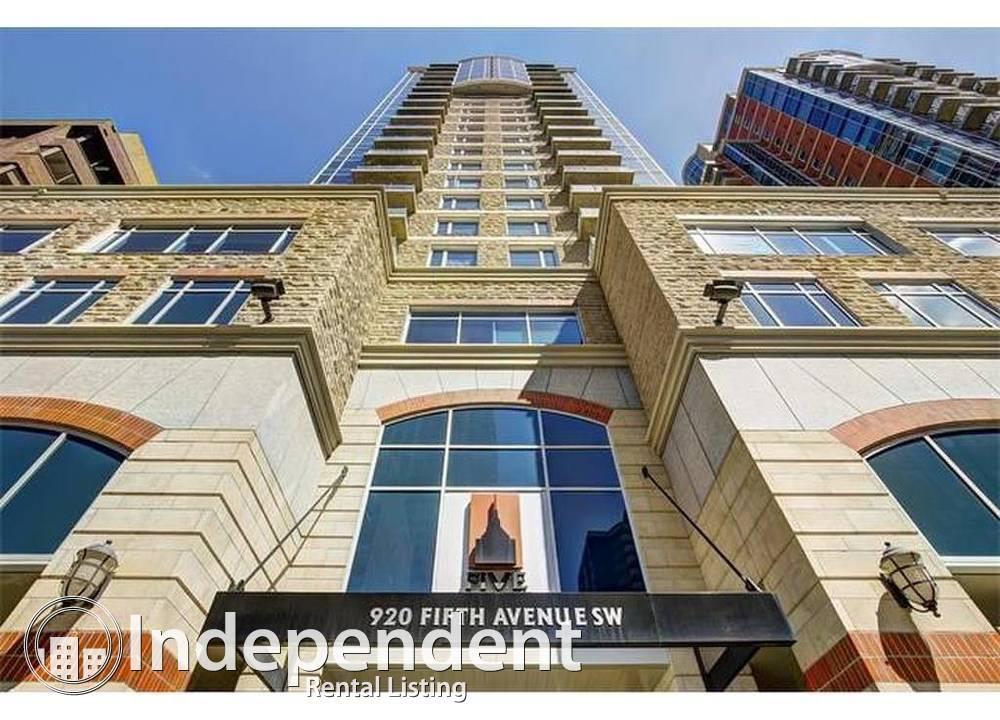 2702 - 920 5 Avenue SW, Calgary, AB - 3,650 CAD/ month
