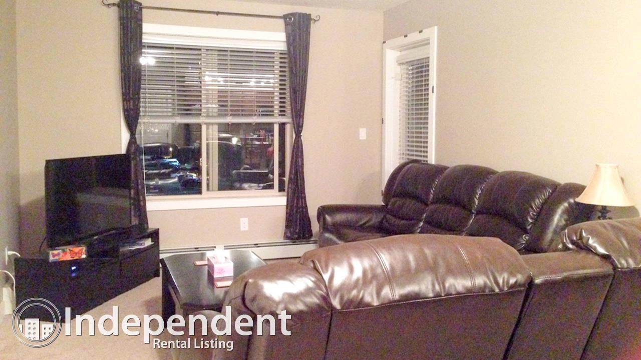 Furnished 2 Bedroom + DEN Condo in Saddle Ridge!