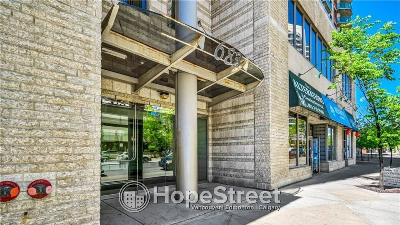 2 Br Condo for Rent in Downtown: Pets Negotiable/ Heat & Water Included.