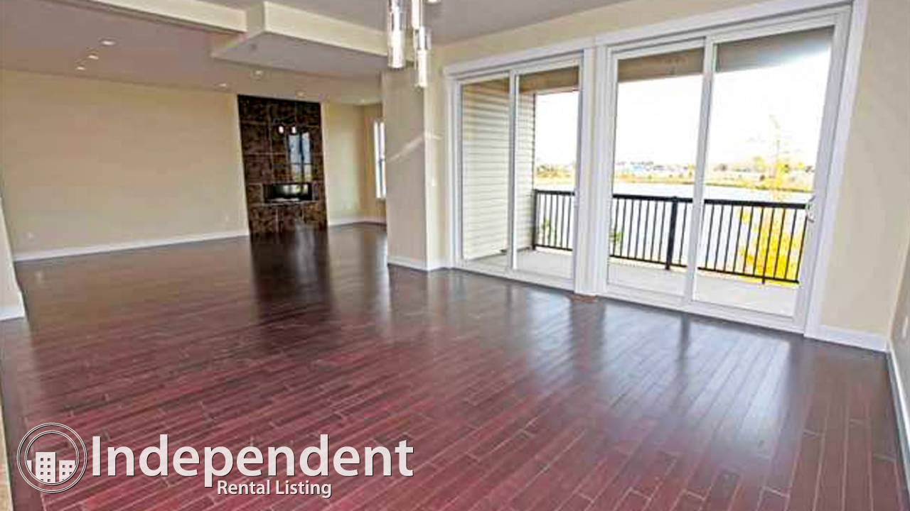 3 Br House with Lake View for Rent in Chestermere