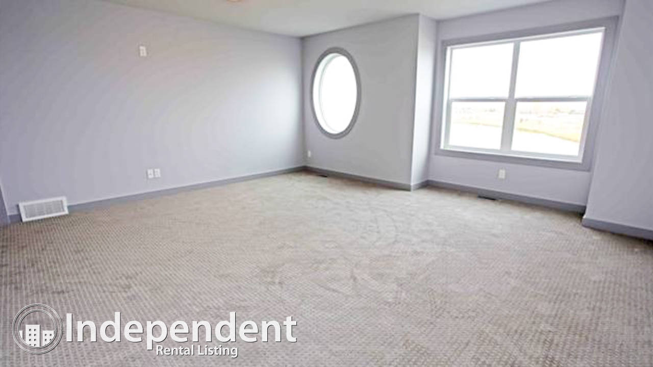 Brand New 3 Br House with Lake View for Rent in Chestermere: Pet Friendly