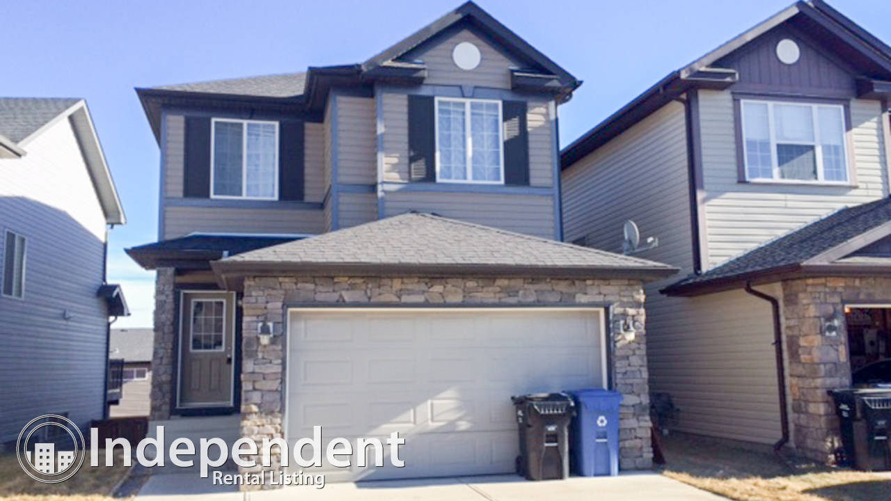 3 Bedroom House With Walkout Basement For Rent In Kincora