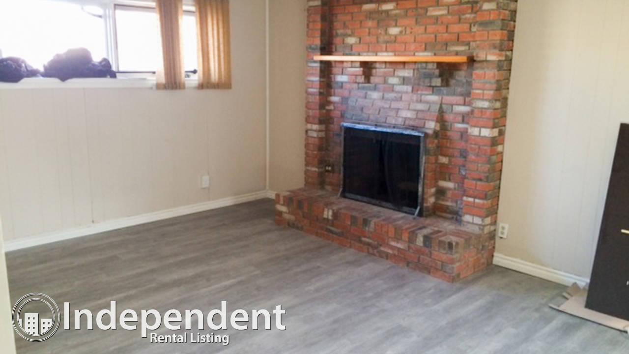 Renovated 3 Br Basement Suite in Pineridge: Cat Friendly & Utilities Included