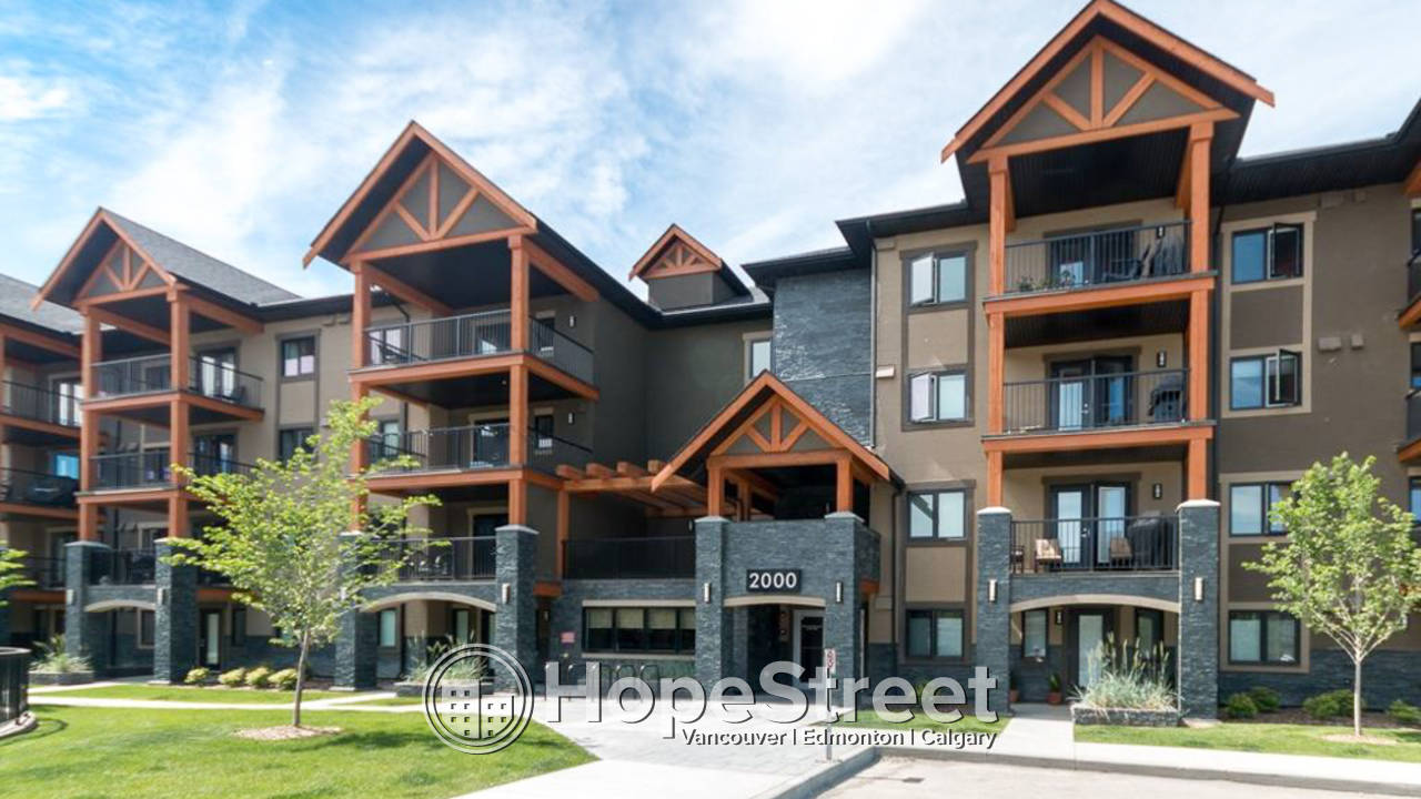 2 Bedroom Condo with Two Parking Stalls in Kincora: Dog Friendly