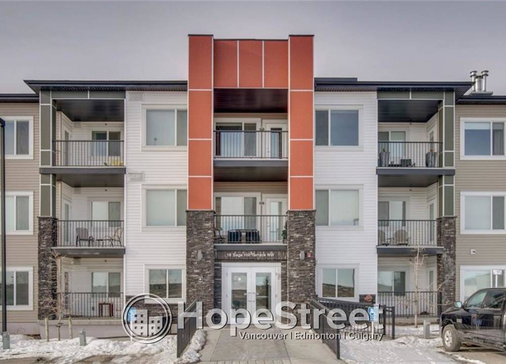 114 - 16 Sage Hill Terrace NW, Calgary, AB - 1,100 CAD/ month