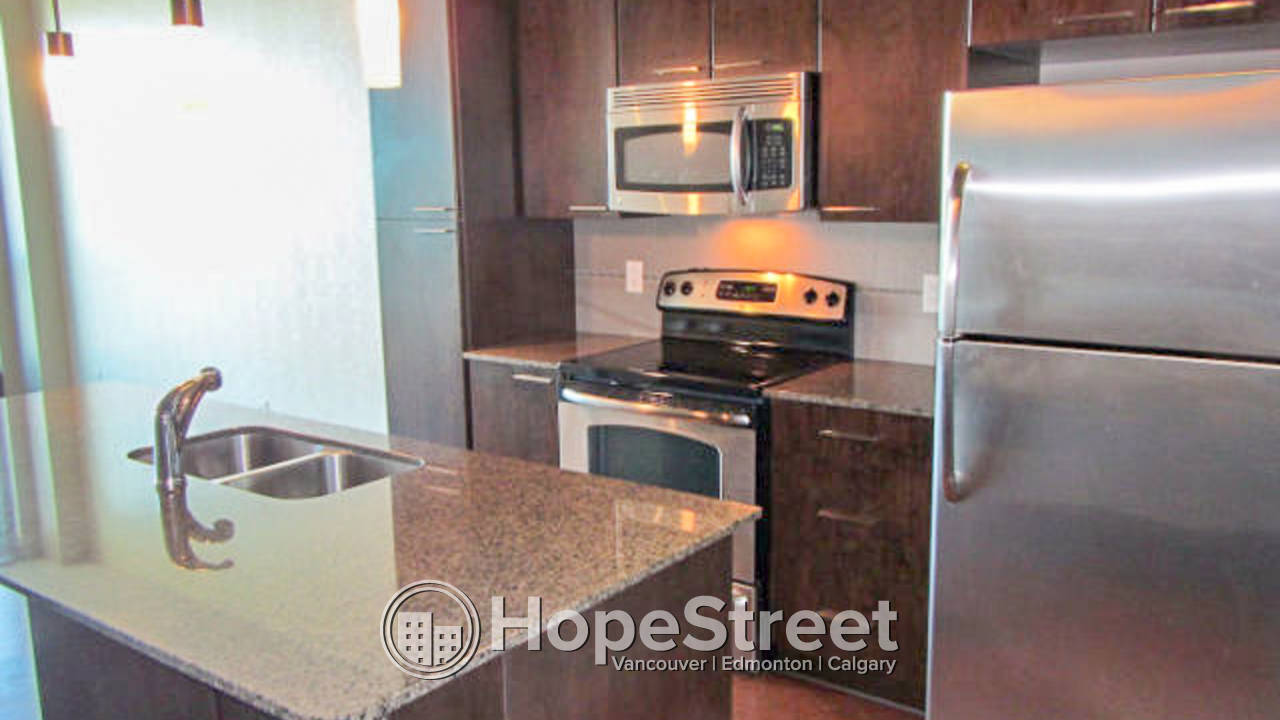 1 BR Condo for Rent in Downtown: UNDGR. Parking & Storage Included