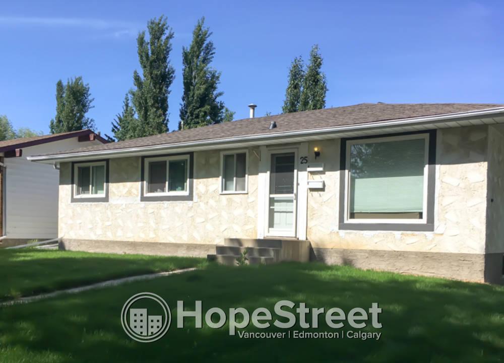 25 Finch Crescent, St. Albert, AB - $1,395