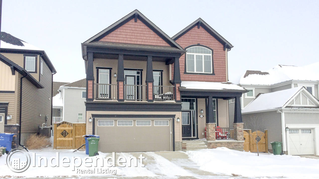 3 Bedroom House with Lake View in Chestermere: Pet Negotiable