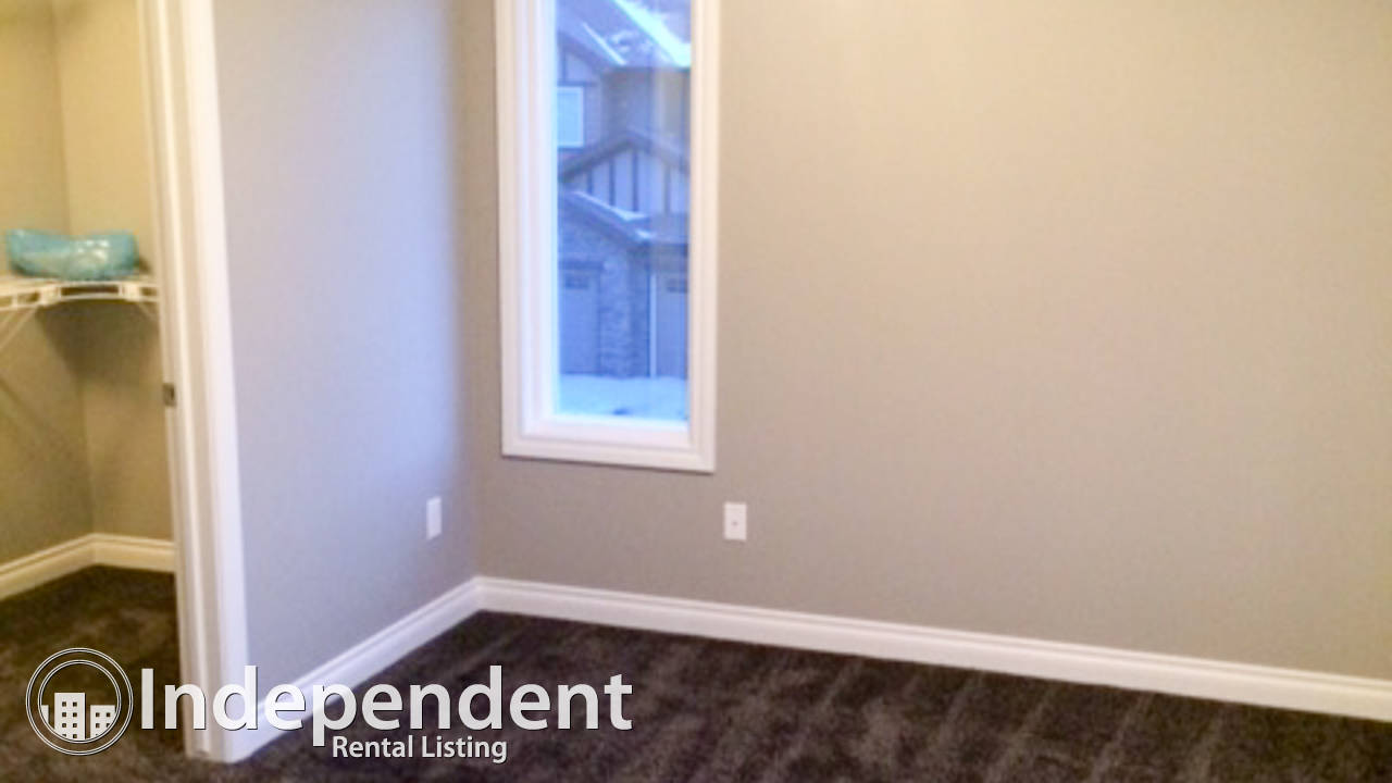 Brand New 3 Bedroom Main Suite for Rent in Aurora: Pets Negotiable