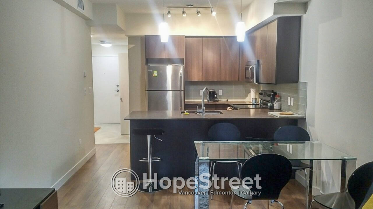 2016 Build, 1 Bedroom Condo in Strathcona: Dog Friendly