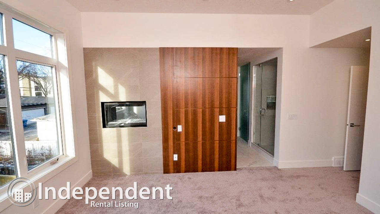 Executive 4 Bedroom Duplex for Rent in Altadore