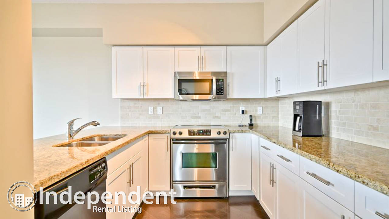 2 Bedroom Condo for Rent in Downtown: Cat Friendly