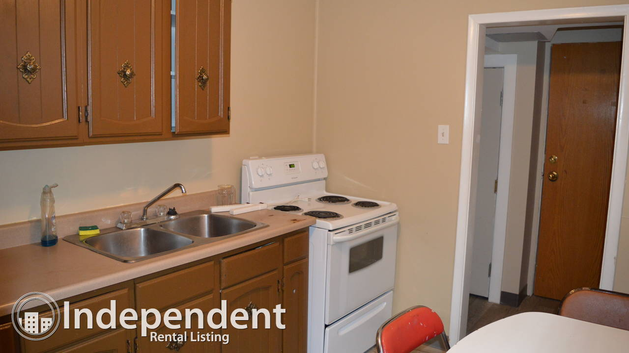 2 bedroom basement unit just off whyte ave, furnished & utils included