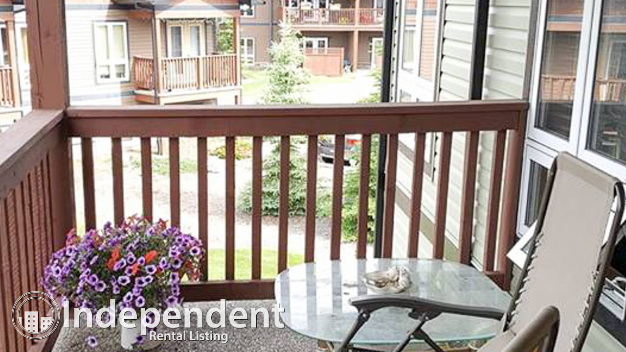 3 Bd Apartment for Rent in Stony Plain: Pet Friendly & Utilities Included