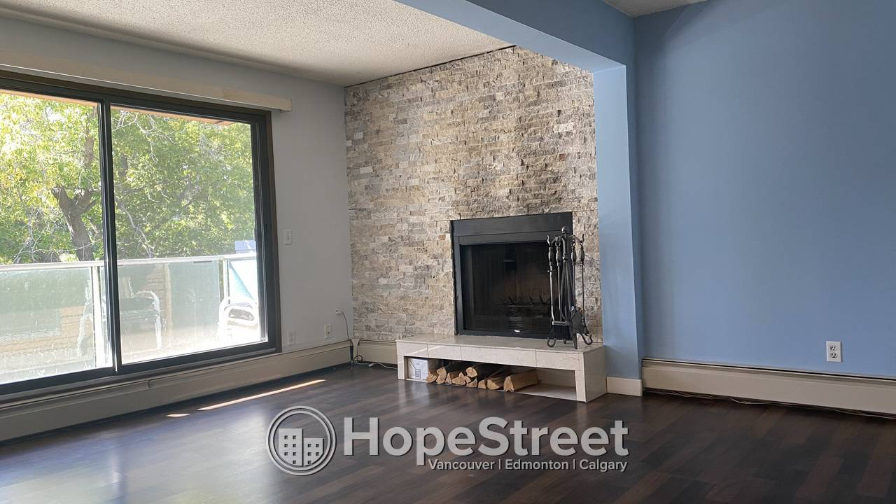 2 Bedroom Condo with Underground Parking For Rent in Bankview