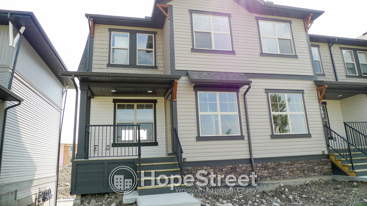 Newer 3 Bedroom Townhouse for Rent in Cochrane