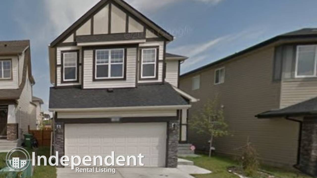 PRICE JUST REDUCED+ONE MONTH FREE RENT - 3 Bd house in Airdrie!