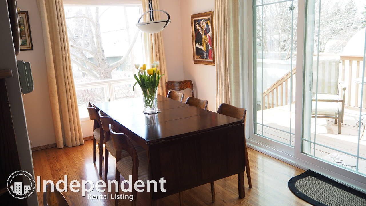Explore Calgary and southern Alberta.  Walk in and have a fully functional home at your disposal.