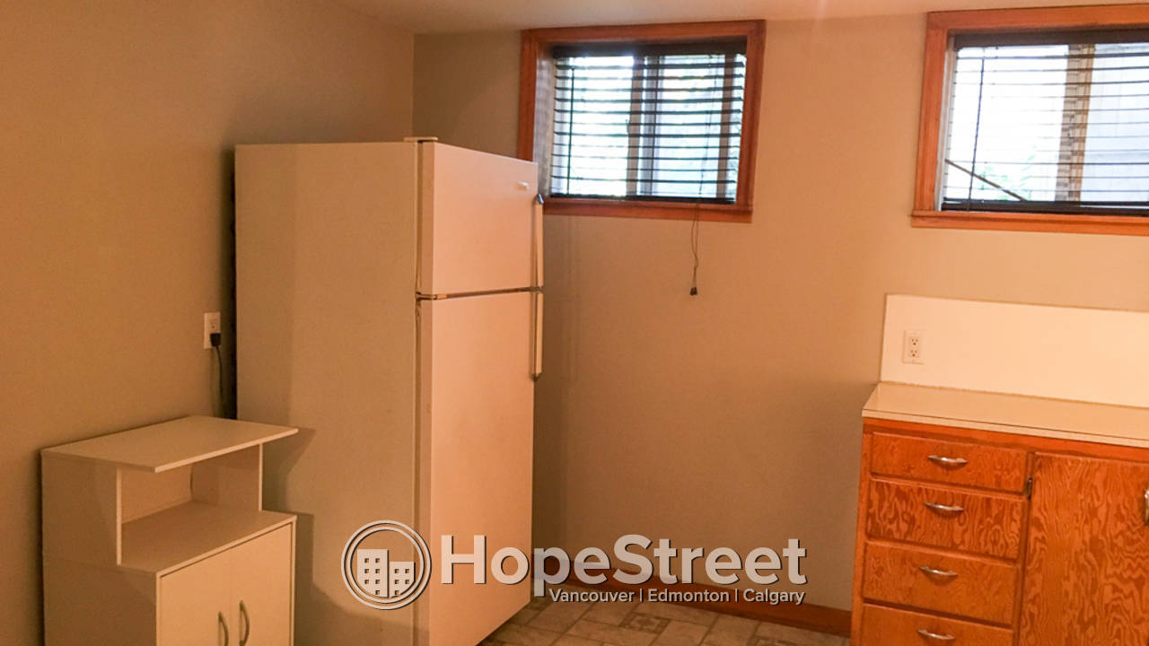 1 Bedroom Basement Suite for Rent in Inglewood: Cat Friendly