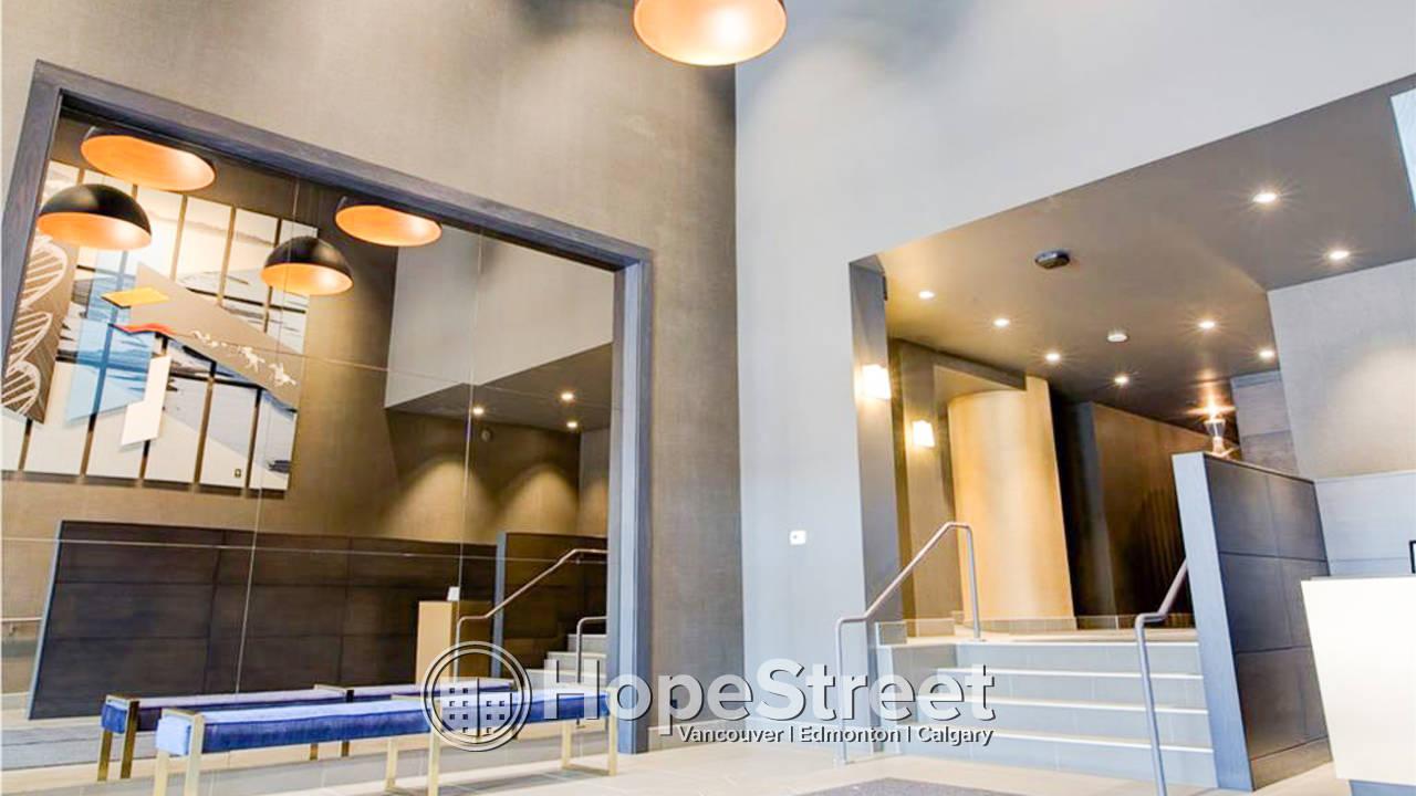 1 Bedroom Condo for Rent in Beltline w/ UNDGR. PARKING & IN-SUITE LAUNDRY