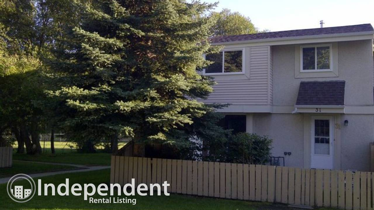 4 Bd Plus Townhouse in Devon Alberta for Rent