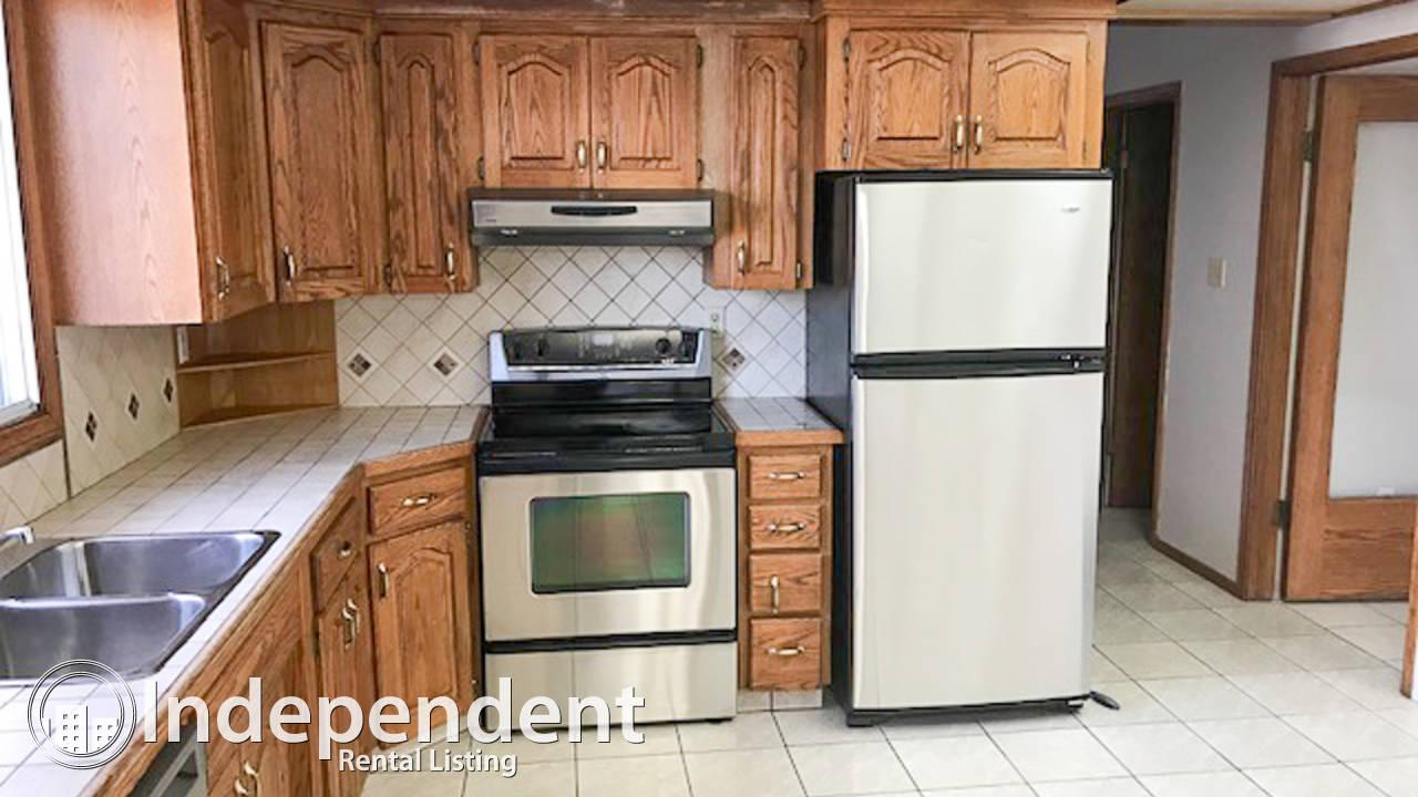 3 Bedroom Main Floor Suite for Rent in Winston Heights