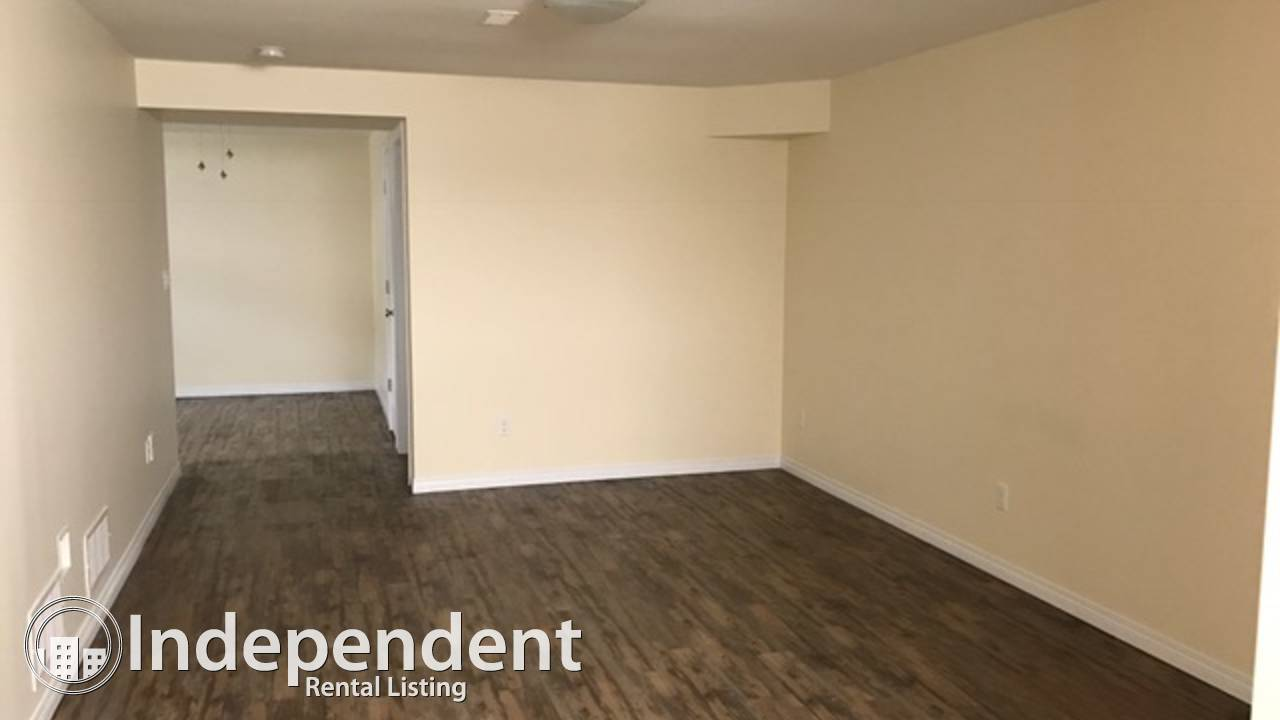 $1000 per month, utilities included for this newly built basement suite!