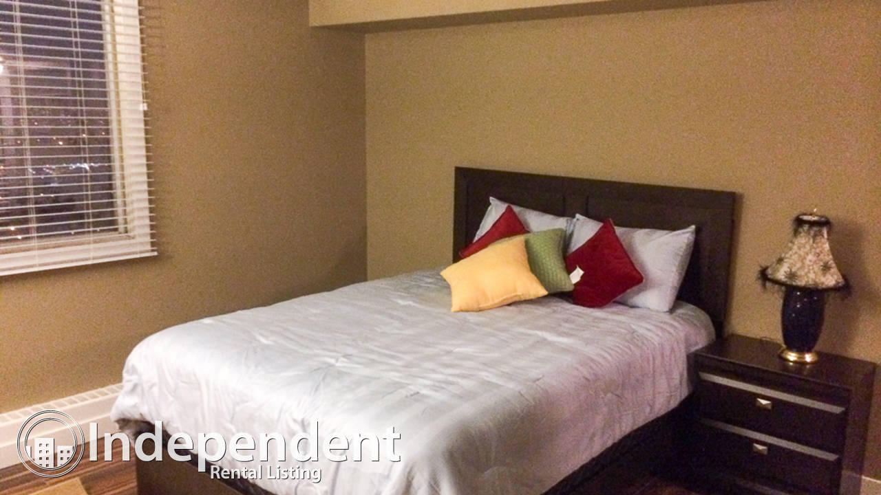 Furnished 2 Bedroom Condo for Rent in Downtown: Utilities Included