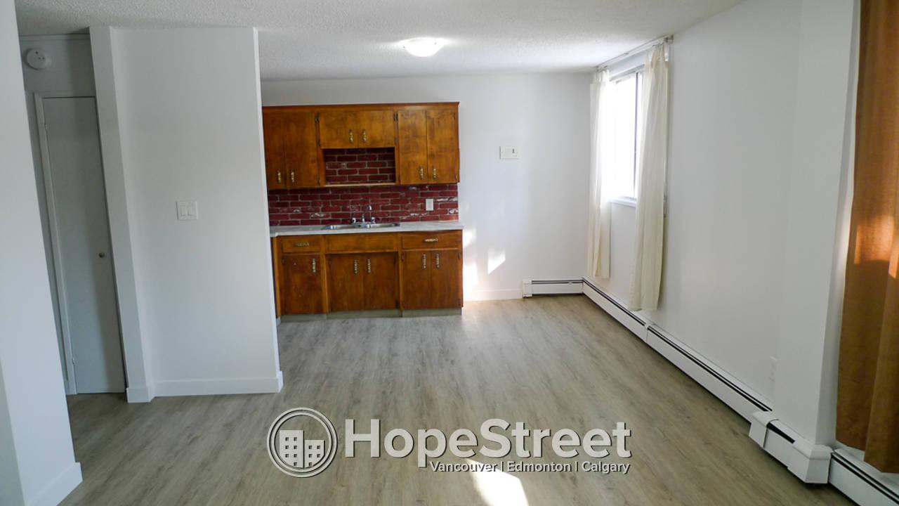 1 Bedroom Condo for Rent in Sunnyside: Heat & Water Included