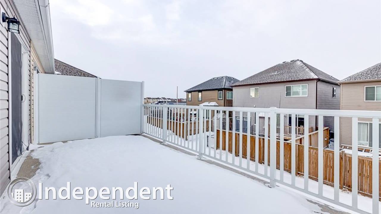 3 Bedroom Townhouse For Rent In Airdrie Hope Street Real
