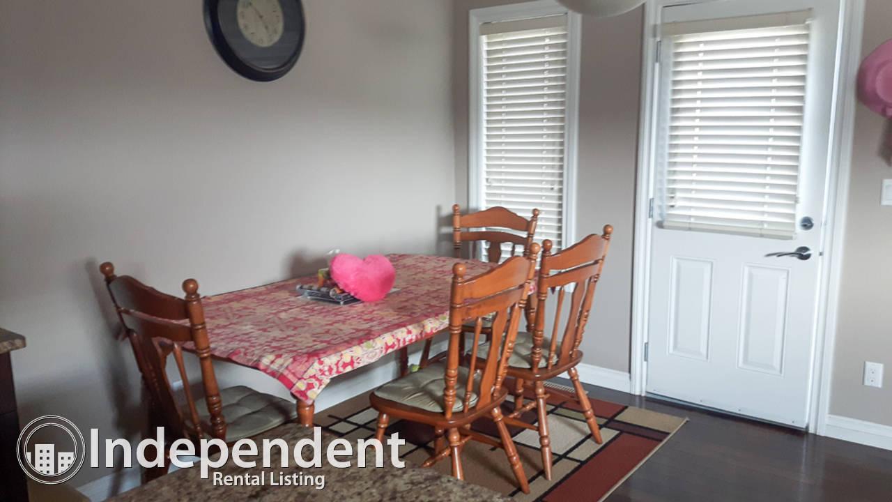3 Bedroom Duplex for Rent in McConachie: Pet Friendly