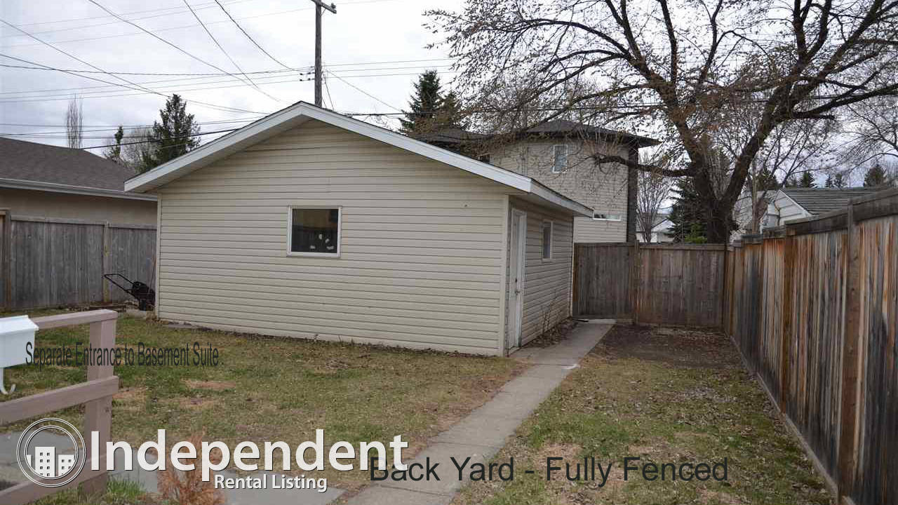 ENTIRE HOUSE with 2 self-contained 2-bedroom living units!