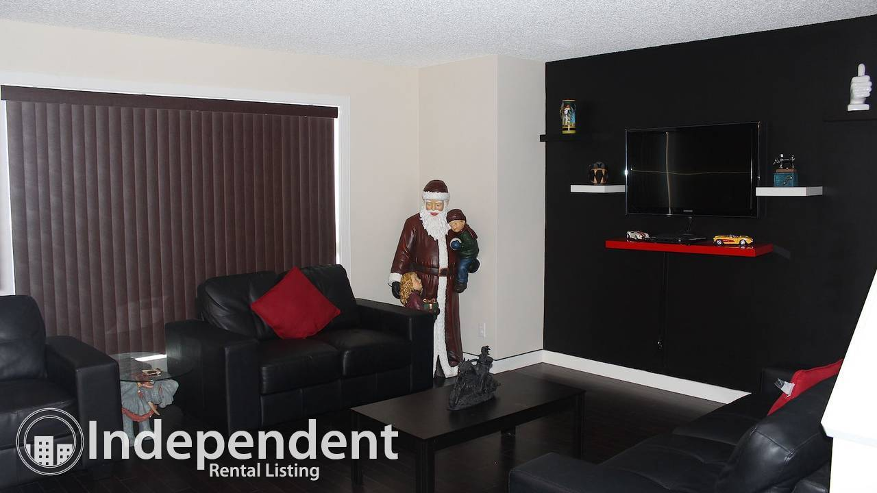 3 Bedroom Home in Saddlebrook circle (with showhome upgrades) Available for Rent $1500 per month