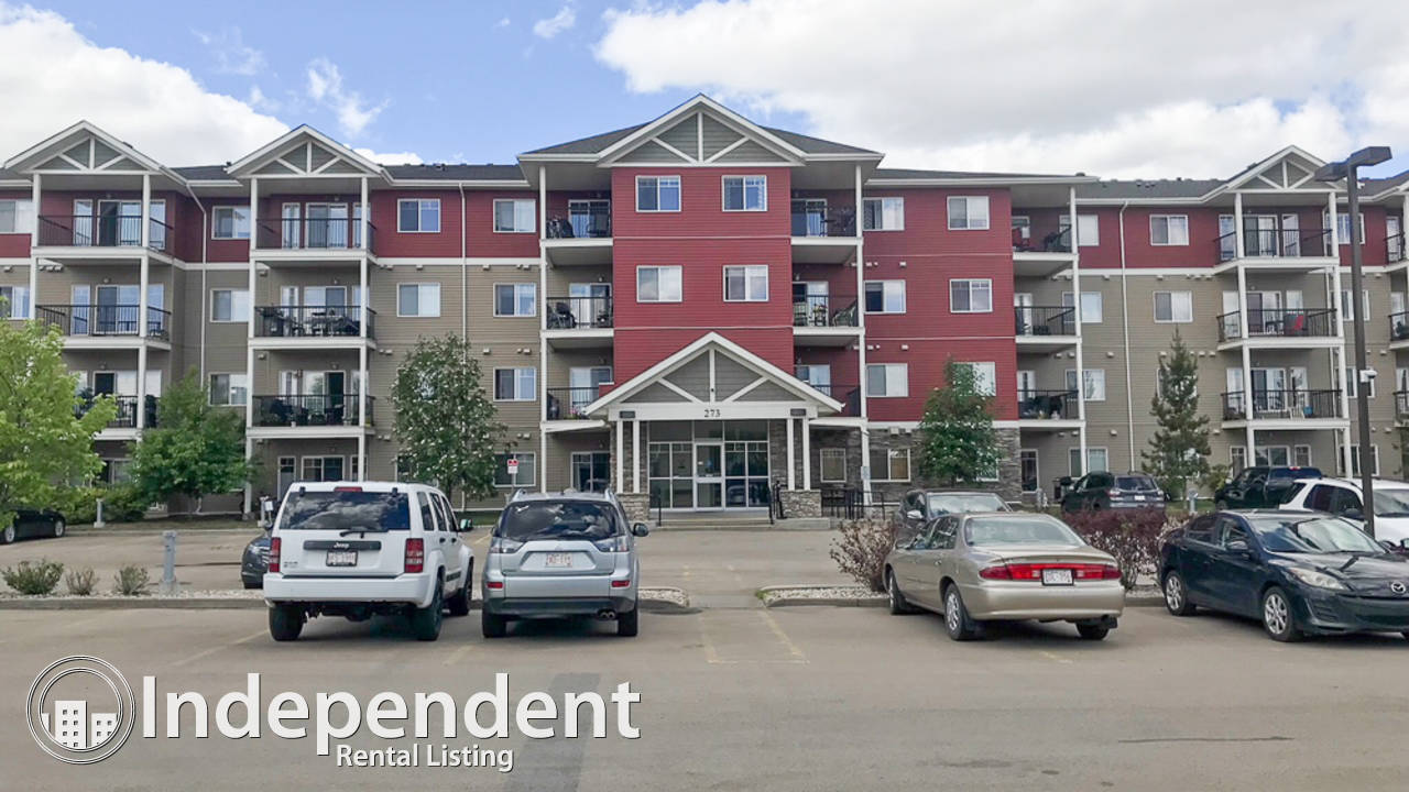 2 Bedroom Condo for Rent in Sherwood Park: Utilities Included