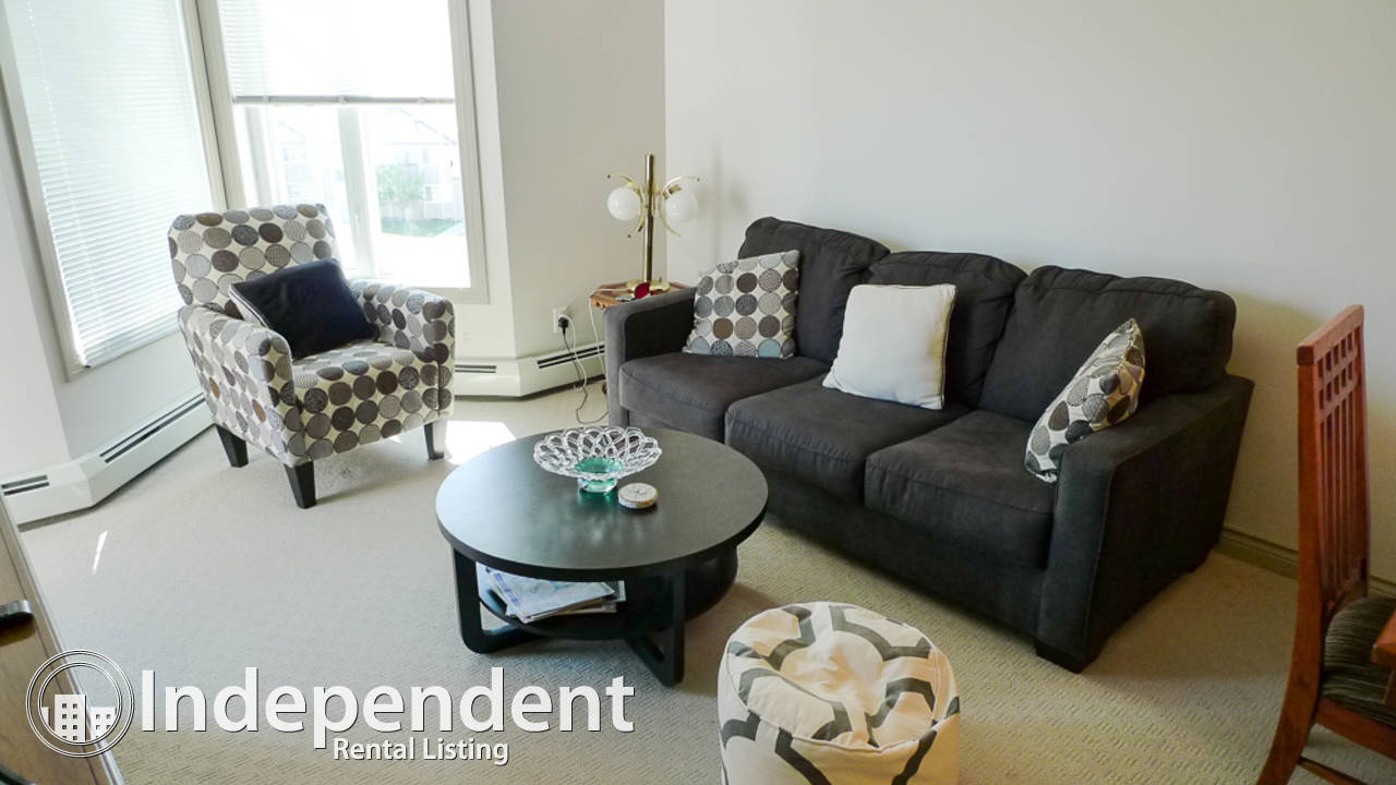 Furnished 1 Bedroom Condo for Rent in Royal Oak