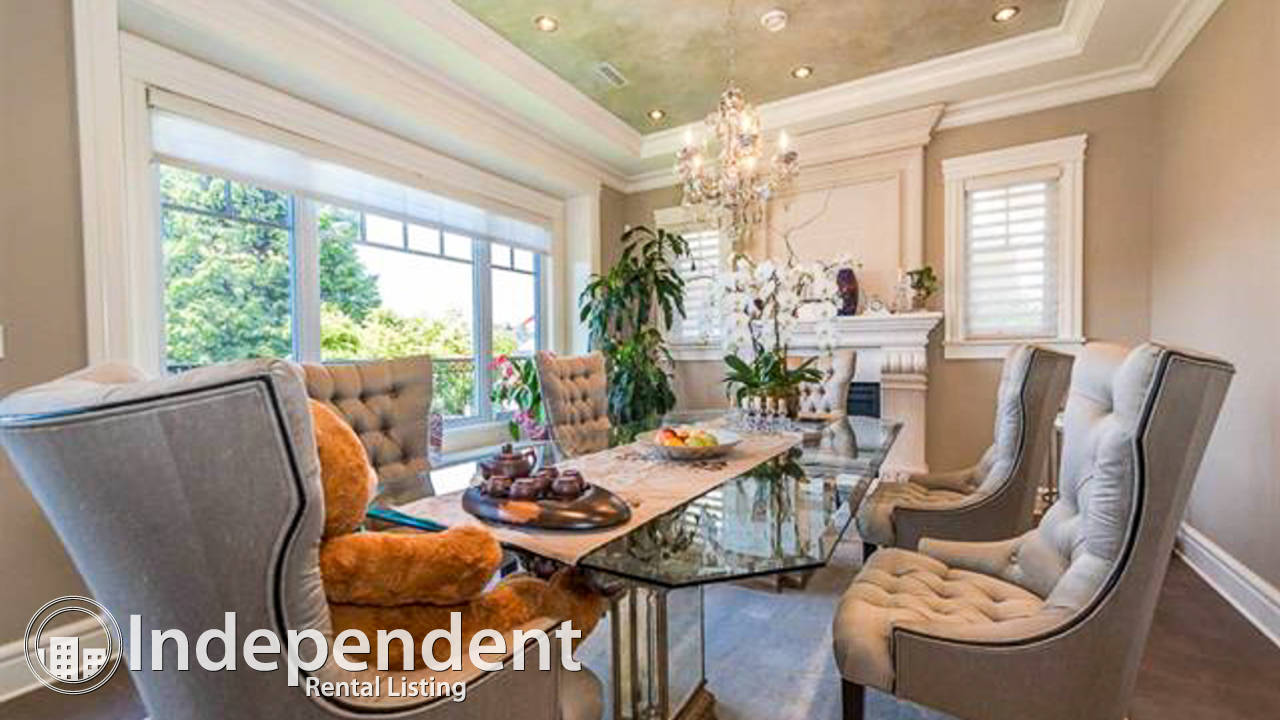 Gorgeous 7 Bedroom House for Rent in Shaughnessy