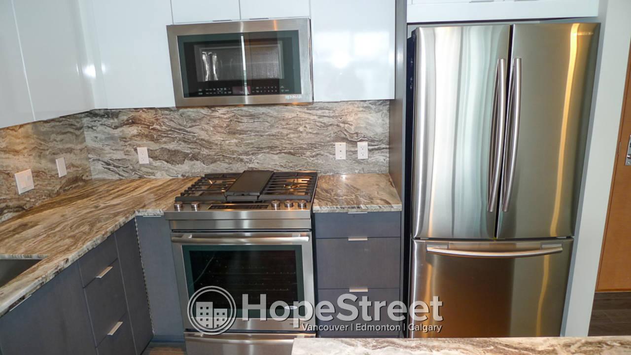 2 Bedroom Condo for Rent in East Village w/ Undgr. Parking/ Heat & Water Included.