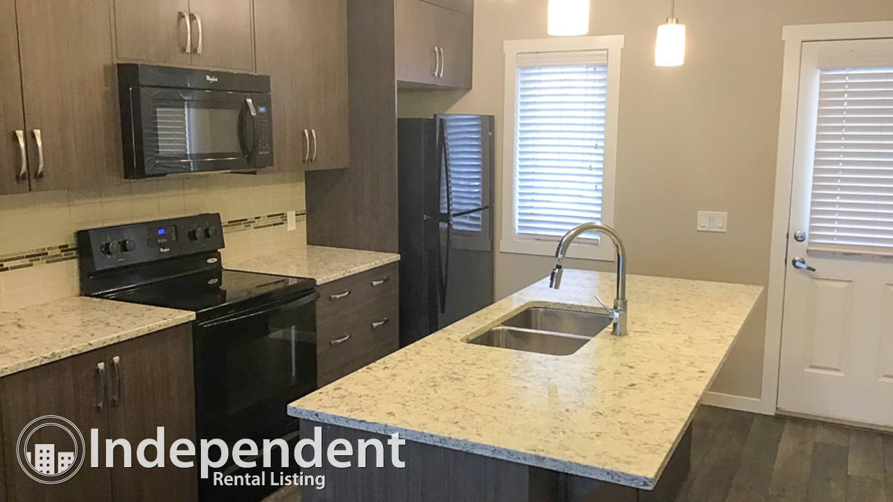 2 Bedroom Townhouse for Rent in Auburn Bay: Heat & Water Included