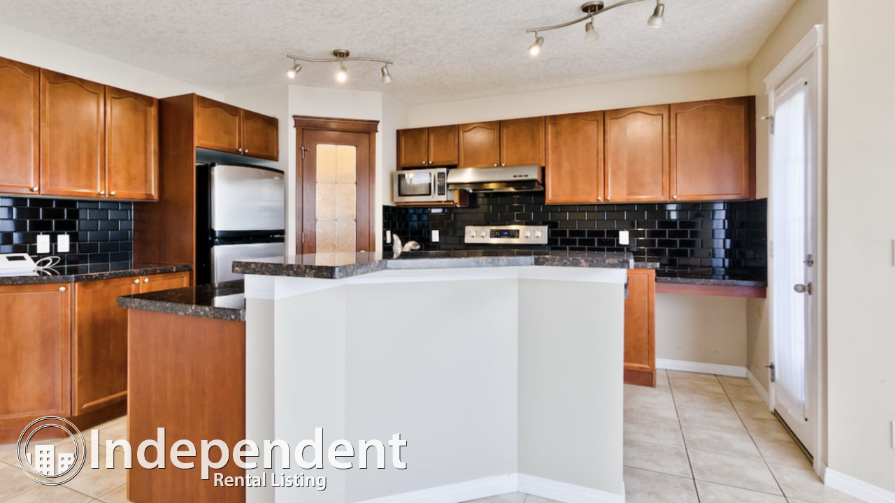 Beautiful 4 Bedroom House with walkout Basement