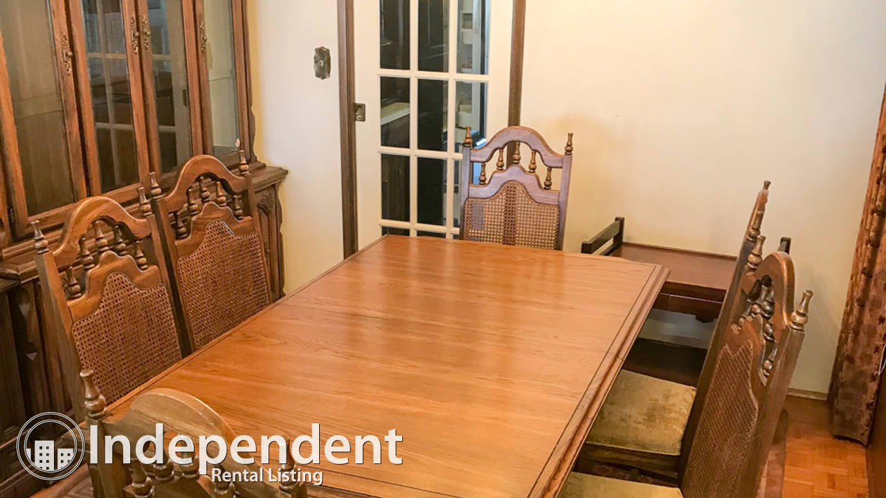 3 Bd Main Floor Suite for Rent in East Side: Partially Furnished