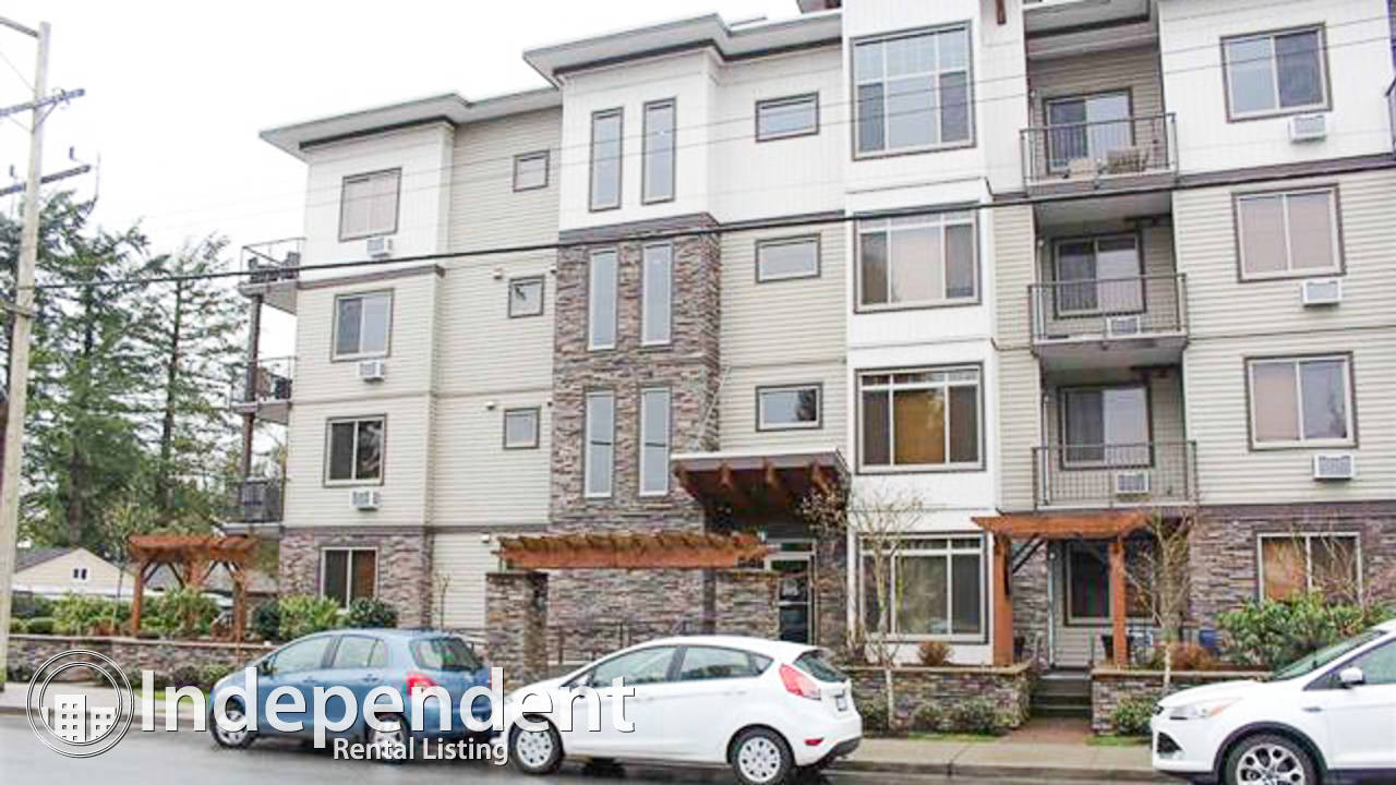 Furnished 1 Bedroom + Den Condo for Rent in Maple Ridge: Pet Friendly & Utilities Included