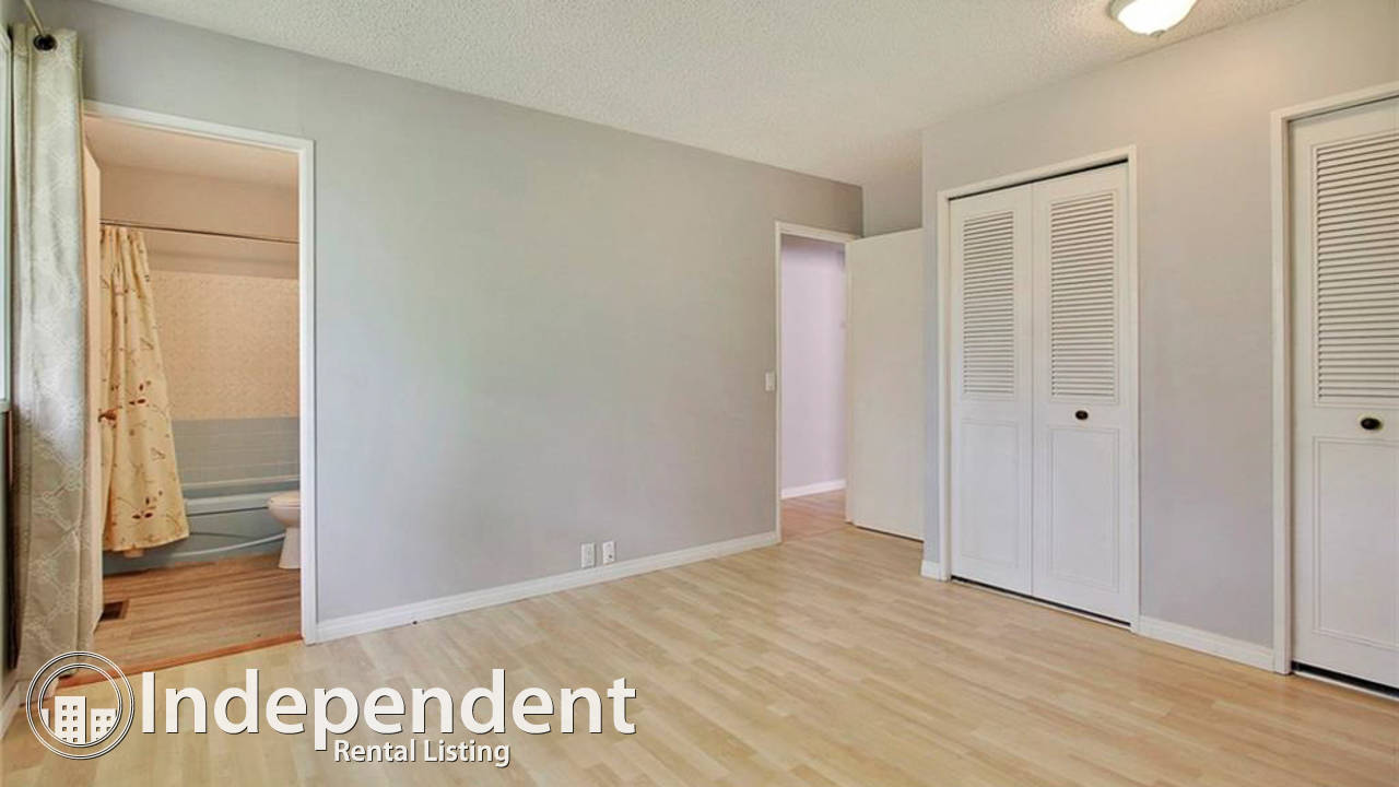 Main Floor Suite for Rent in Canyon Meadows