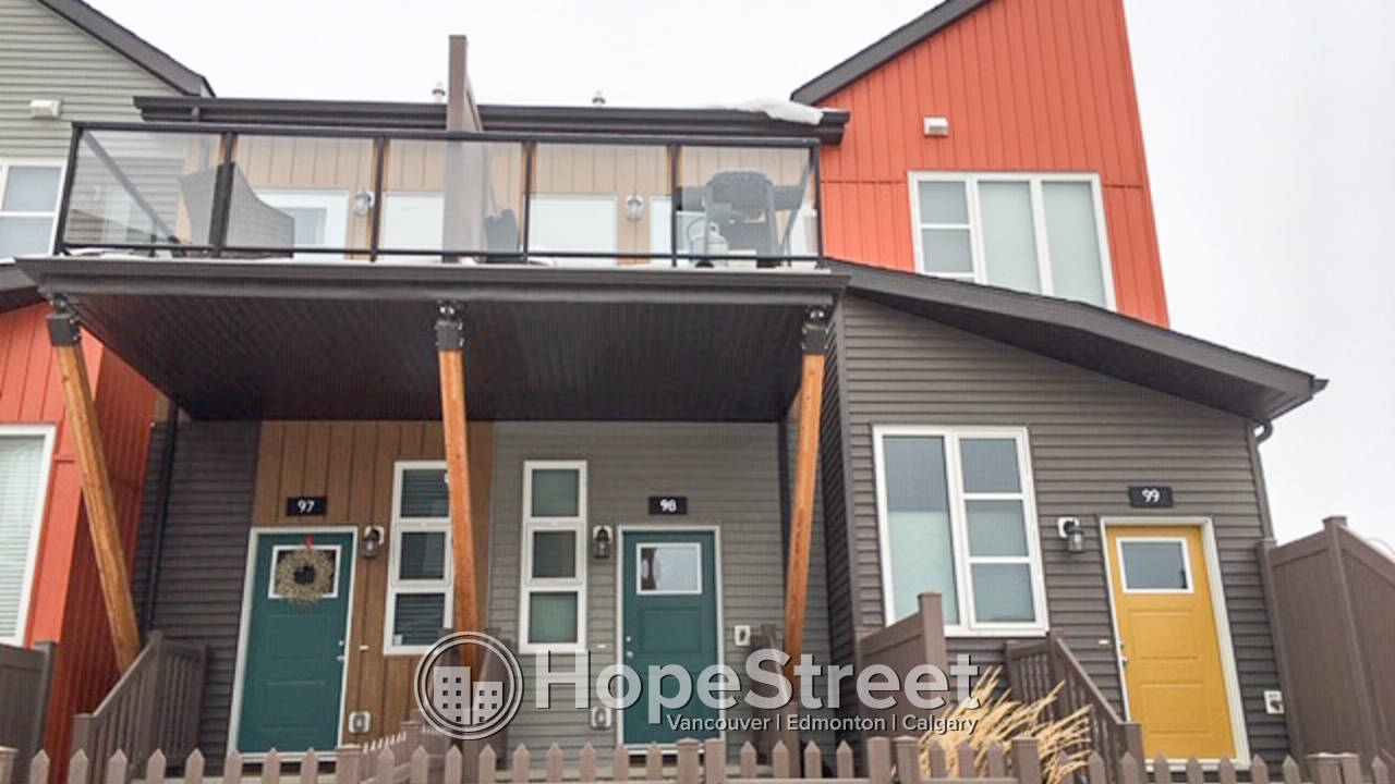 1 Bedroom + Den Townhouse for Rent in Heritage Valley