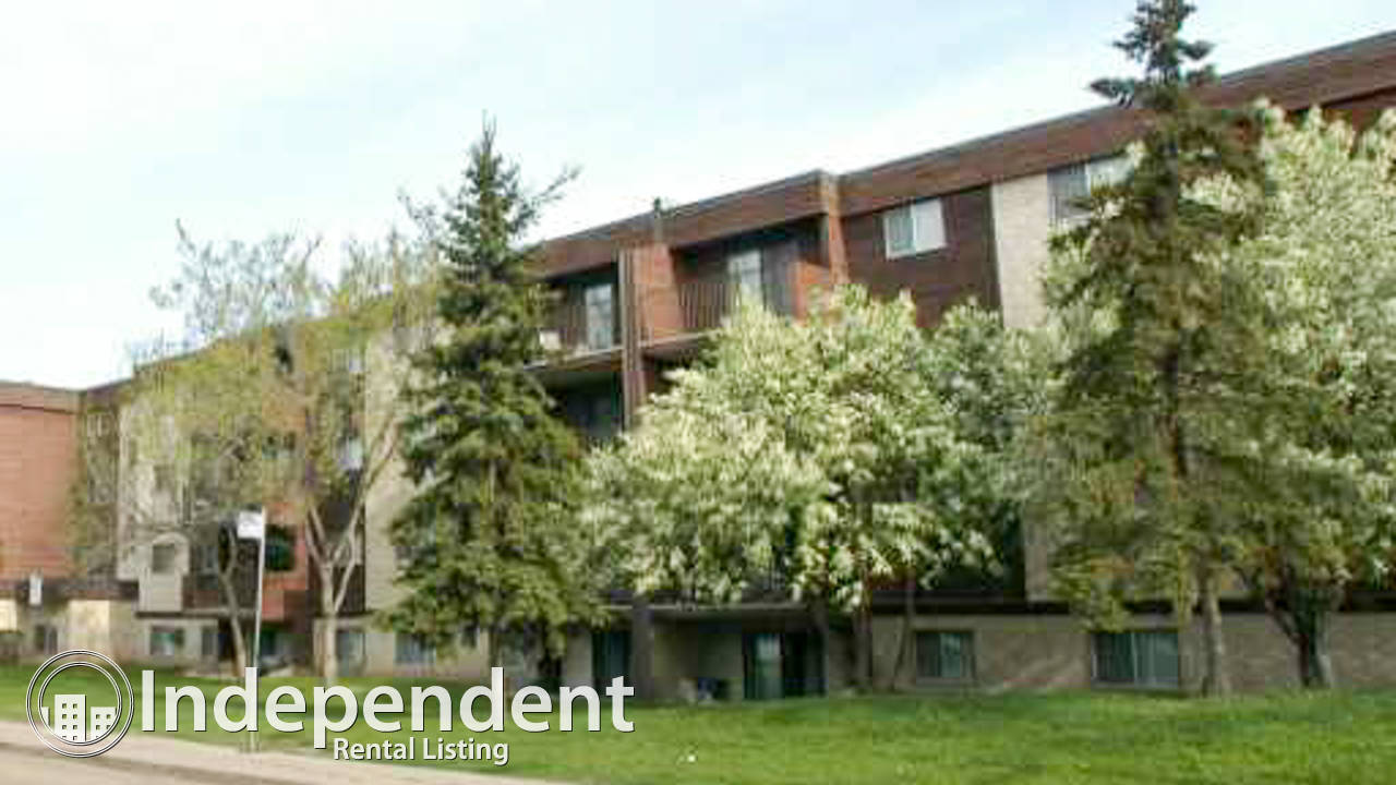 2 Bedroom Condo for Rent in Mill Woods: Utilities Included